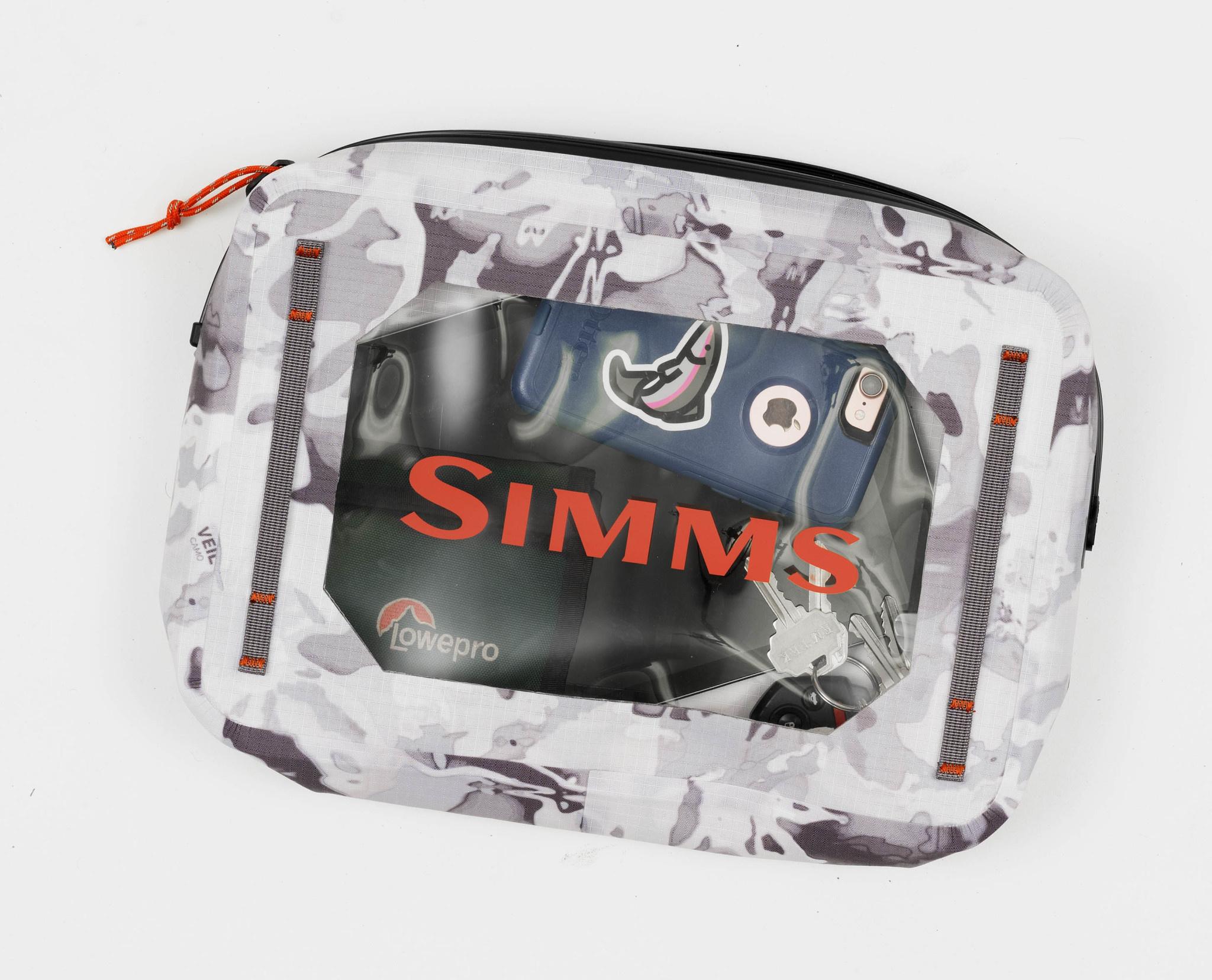 Simms 40% OFF - Simms Dry Creek Gear Pouch Cloud Camo Grey 4L