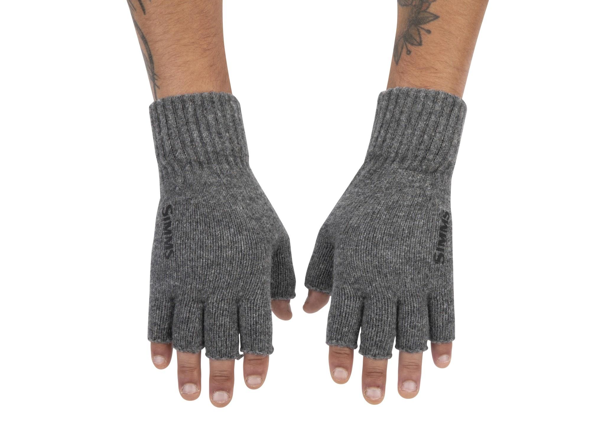 Simms Simms Wool Half Finger Glove