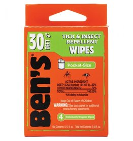 Ben's Ben's 30 Wipes Travel Pack
