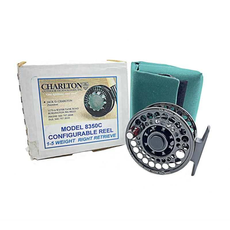 Jack Charlton Charlton 8350C Fly Reel  1-5 wt. (with extra 1-2 wt. Spool)