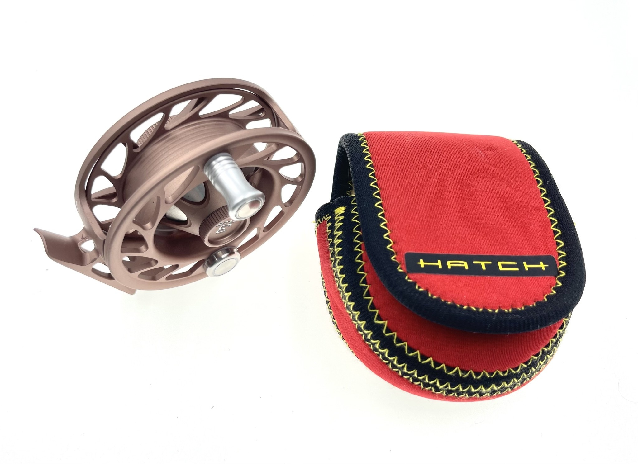 Hatch Custom Hatch Finatic Reel - 3 Plus Rose