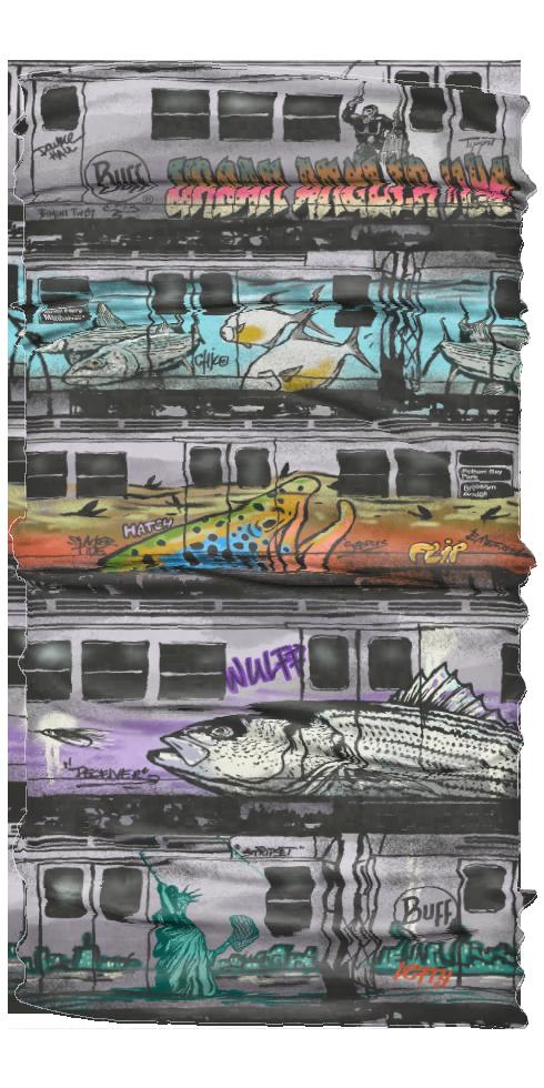 Urban Angler Urban Angler Buff NYC Subway Graffiti