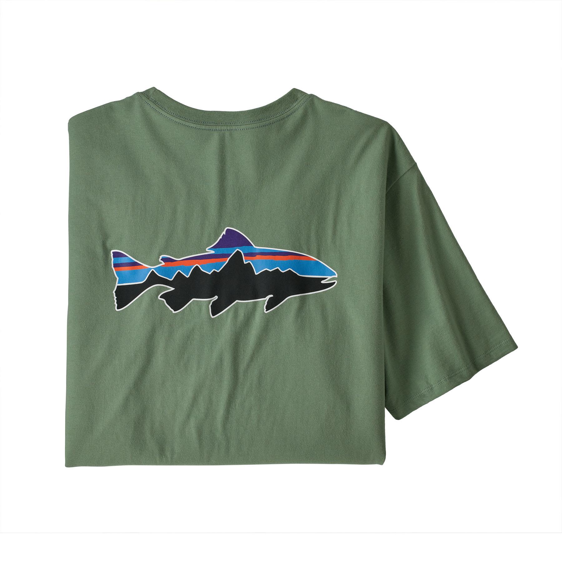 Patagonia Patagonia Fitz Roy Fish Organic T-Shirt