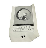 A.P.I. (Angling Products Inc.) A.P.I. Sea Run Bluewater Reel  (LHW)