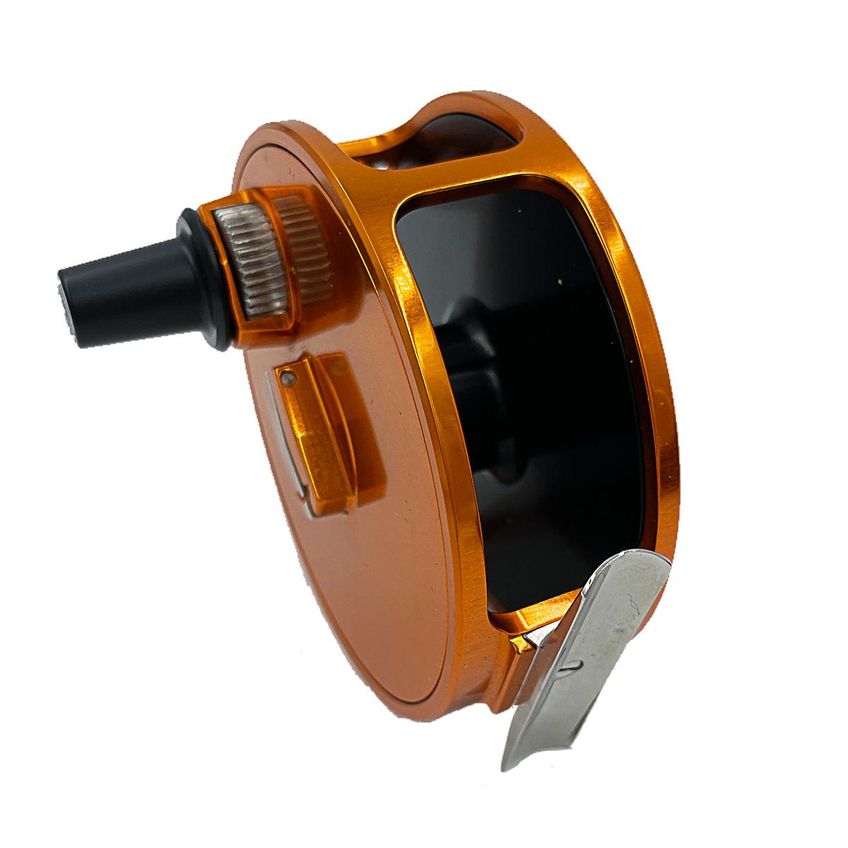 A.P.I. (Angling Products Inc.) A.P.I. Sea Run Orange Reel (RHW)