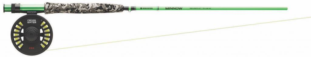 Redington Redington Minnow Fly Rod & Reel Combo