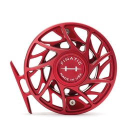 Hatch Custom Hatch Finatic Reel - Red