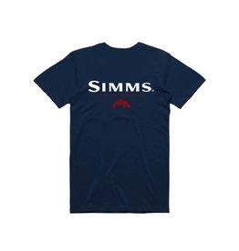 Simms Simms Trout T-Shirt Admiral Blue