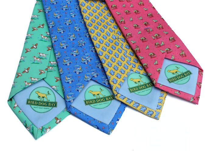 Bird Dog Bay Bird Dog Bay Necktie Bonefish Flats Necktie