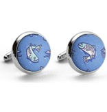Bird Dog Bay Bird Dog Bay Silk Cufflink Set