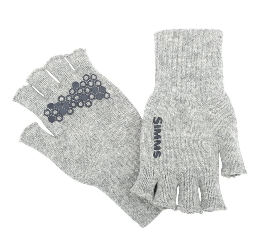 Simms New Simms Wool Half Finger Glove