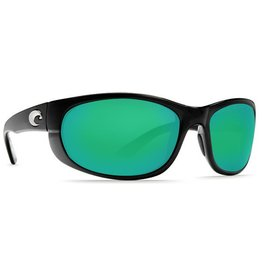 Costa Del Mar Costa Howler Black Green Mirror 580G