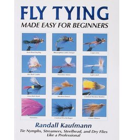 Fly Tying Made Easy For Beginners, Paperback