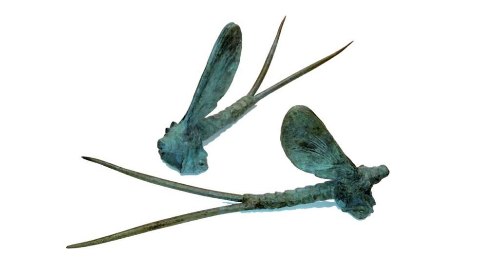Bronze Mayfly Rod Rack by Aaron Juarros