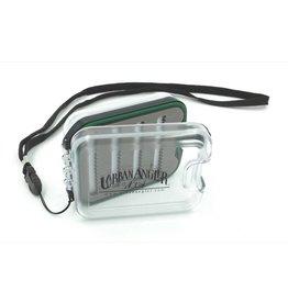Urban Angler UA Small Waterproof Box Clear (with lanyard)