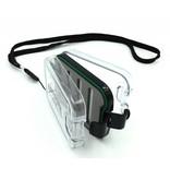 Urban Angler UA Small Waterproof Box Clear (with lanyard)