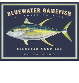 Bluewater Gamefish Card Set by Flick Ford