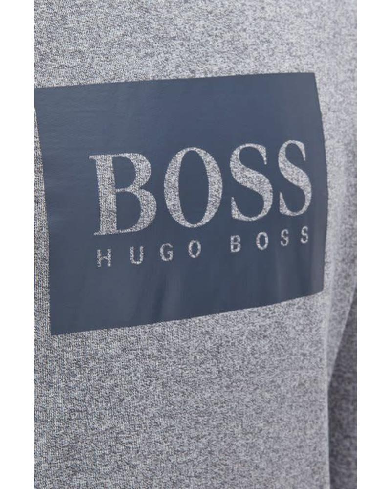 HUGO BOSS HOODED LOUNGEWEAR SWEATSHIRT