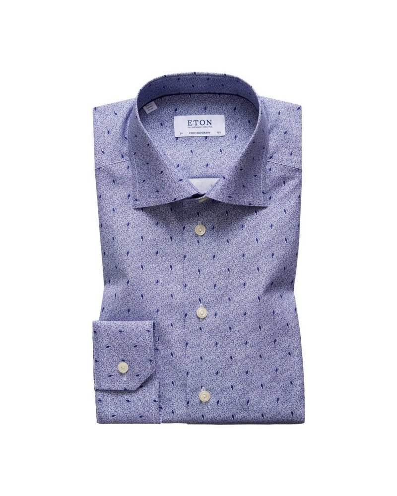 ETON OF SWEDEN MINI BIRD PRINT SHIRT