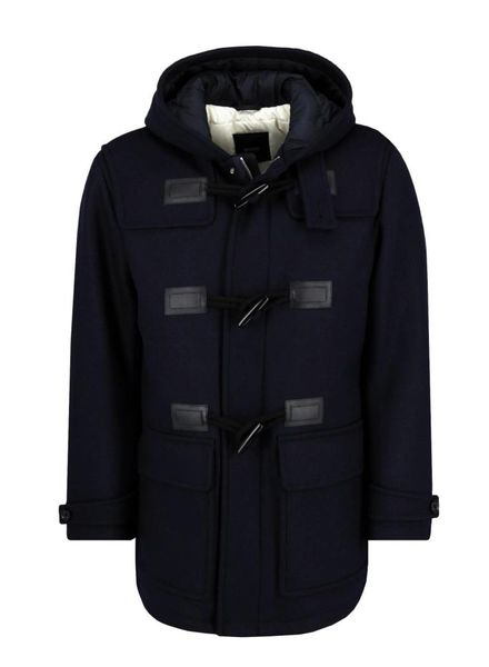 HUGO BOSS HOODED WOOL JACKET