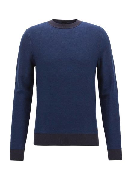 HUGO BOSS KNITTED CREW SWEATER