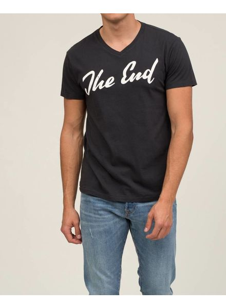 """SOL ANGELES """"THE END"""" V-NECK TEE"""