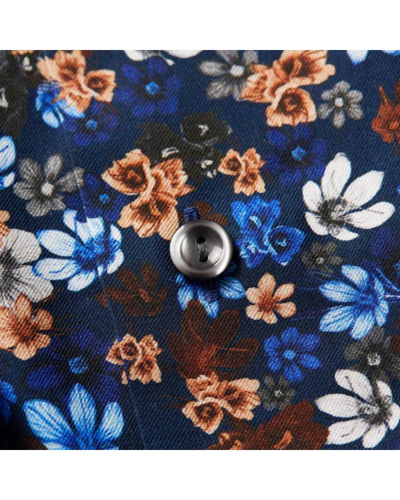 ETON OF SWEDEN FLORAL SHIRT