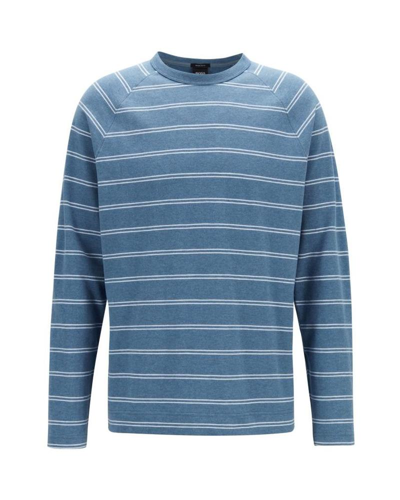 HUGO BOSS STRIPED LONG SLEEVE T-SHIRT