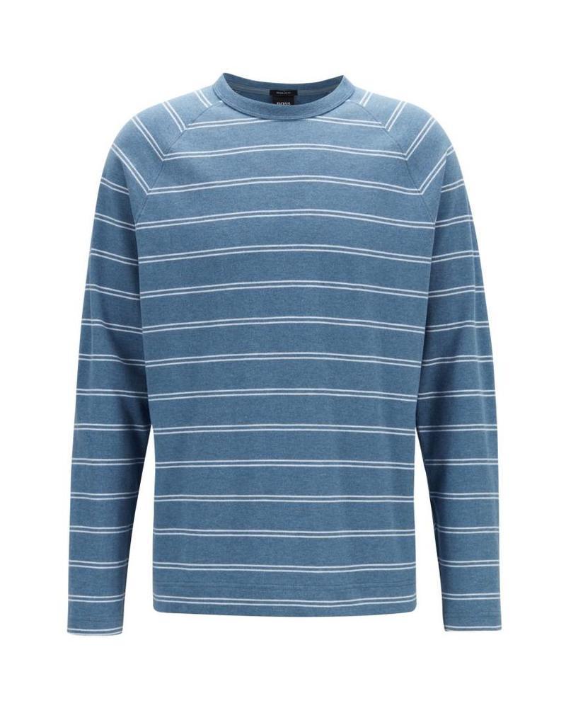 30de81e33 Hugo Boss Striped Long Sleeve T-Shirt | Napoli's Per La Moda ...