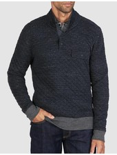 FAHERTY QUILTED SNAP PULLOVER