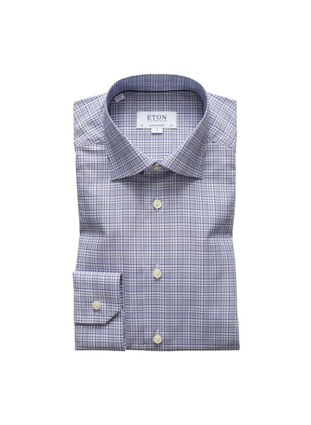 ETON OF SWEDEN PLAID SHIRT