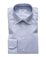 ETON OF SWEDEN CHECK FLANNEL SHIRT