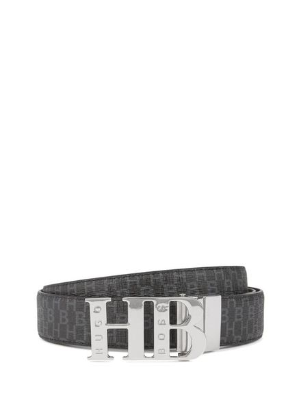 HUGO BOSS REVERSIBLE BELT WITH HB CLOSURE