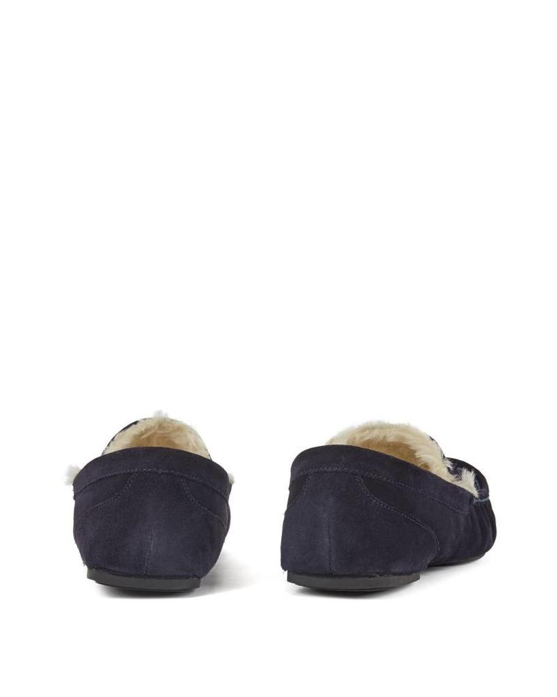 HUGO BOSS SUEDE SLIPPERS
