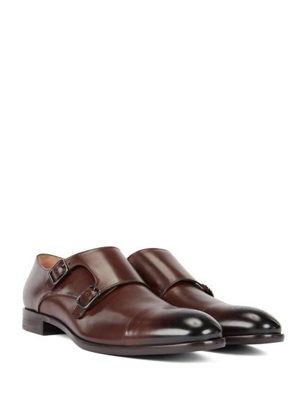 HUGO BOSS DOUBLE MONK STRAP SHOES