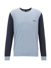 HUGO BOSS PIMA COTTON-BLEND JERSEY TEE