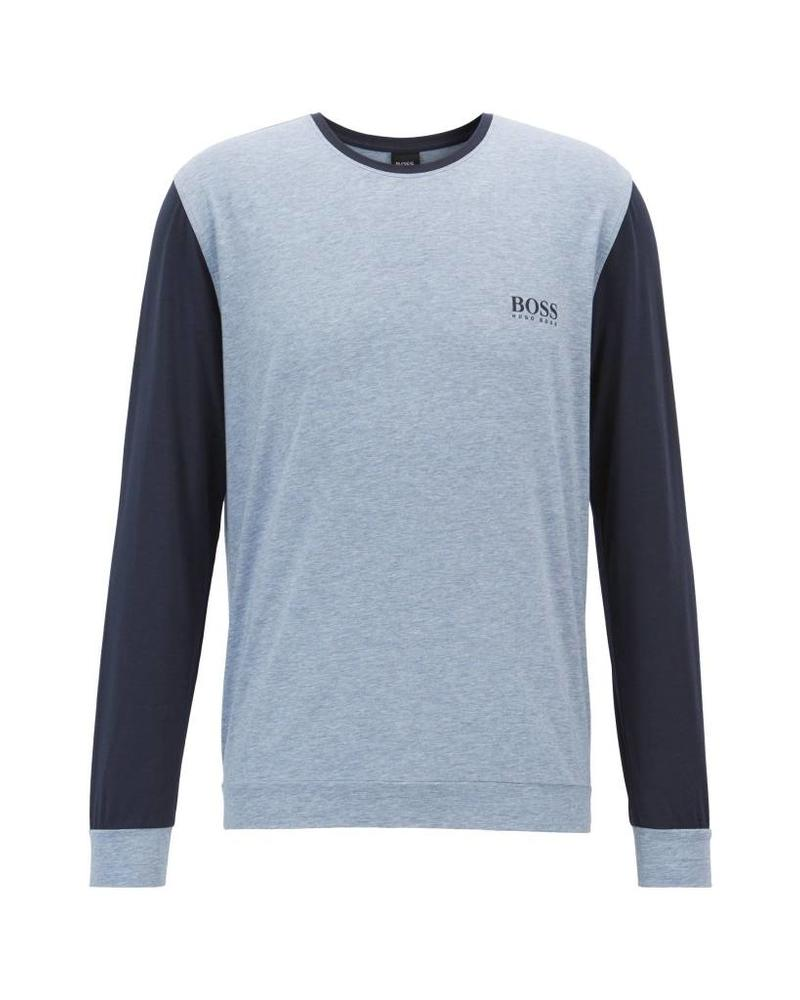 HUGO BOSS PIMA COTTON-BLEN JERSEY TEE
