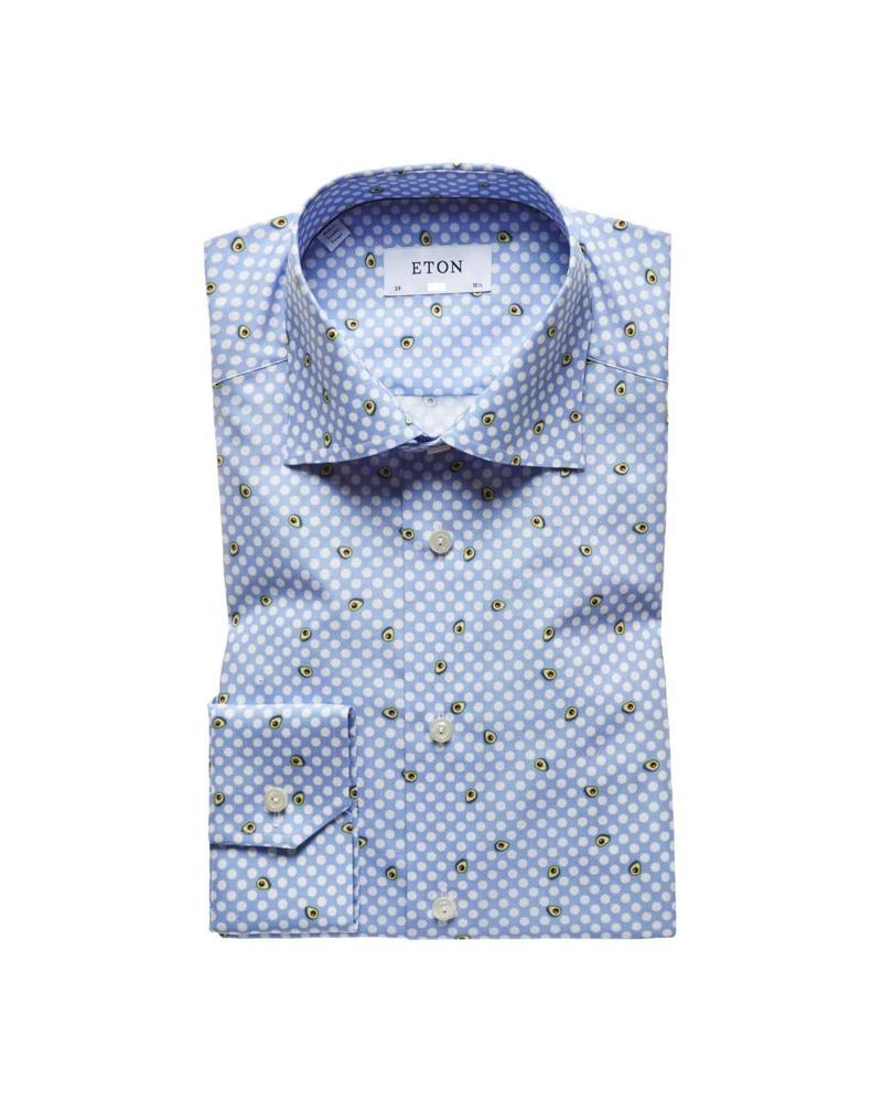 ETON OF SWEDEN AVOCADO SHIRT