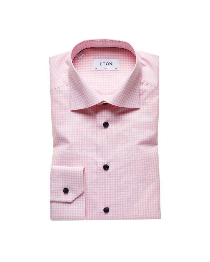 ETON OF SWEDEN SLIM CHECK SHIRT