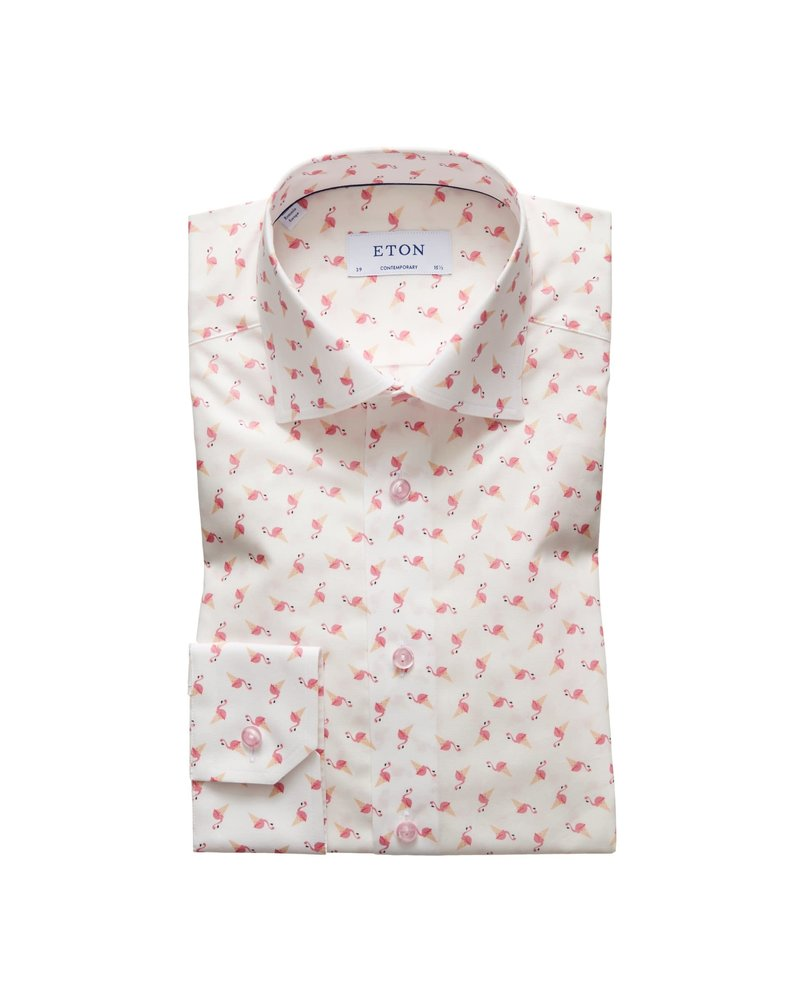 ETON OF SWEDEN FLAMINGO CONE SHIRT