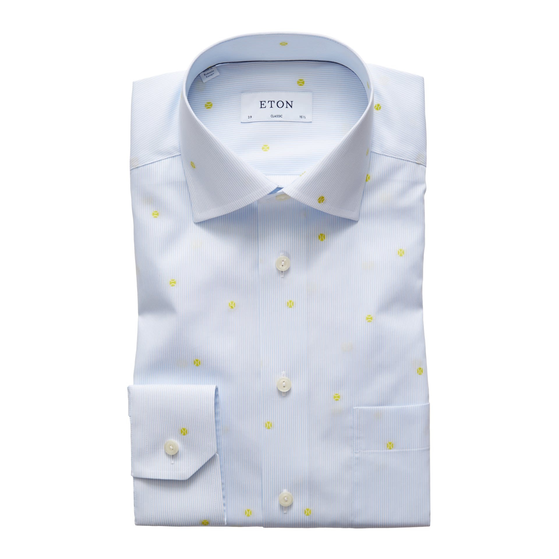 9949bce4 ETON Striped Tennis Shirt | Napoli's Per La Moda - Napoli's Clothing ...