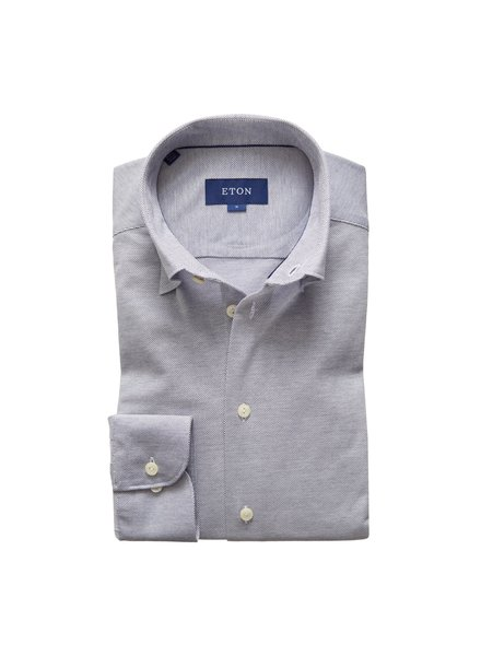 ETON STRETCH PIQUE SHIRT