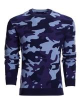 GREYSON CLOTHIERS CAMO CASHMERE SWEATER