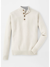 PETER MILLAR CASHMERE FOUR BUTTON MOCK