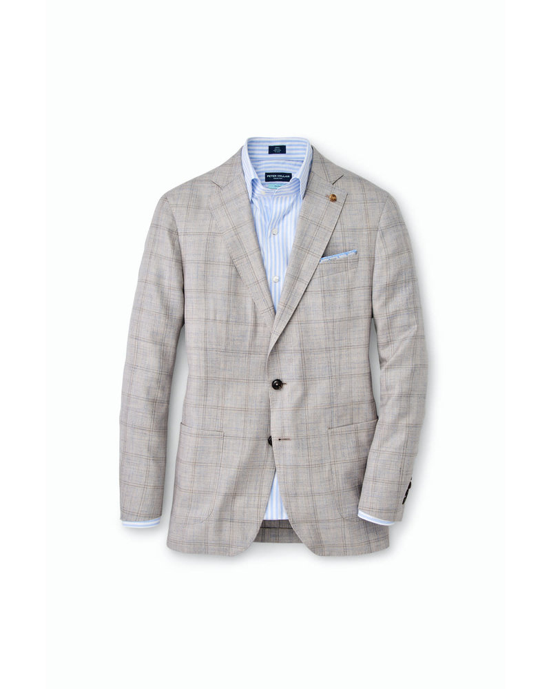 PETER MILLAR WINDOWPANE SOFT BLAZER