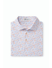 PETER MILLAR SHORT SLEEVE COCKTAIL PRINT POLO