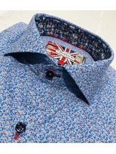 7 DOWNIE ST. SHORT SLEEVE PRINT SHIRT