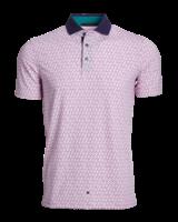 GREYSON CLOTHIERS SHORT SLEEVE PRINT POLO