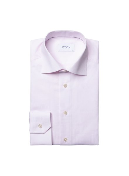 ETON TONAL CHECK SHIRT