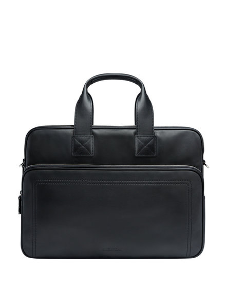 BUGATCHI UOMO LEATHER BAG